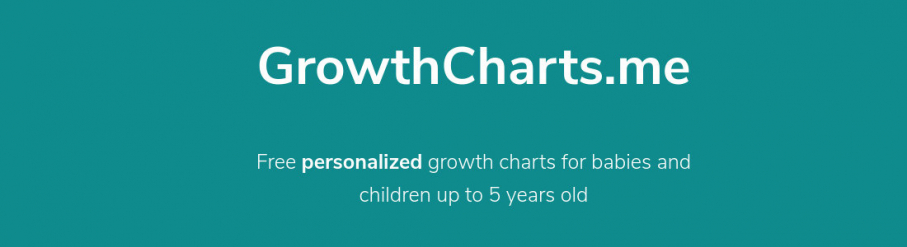 Our new creation : growthcharts.me